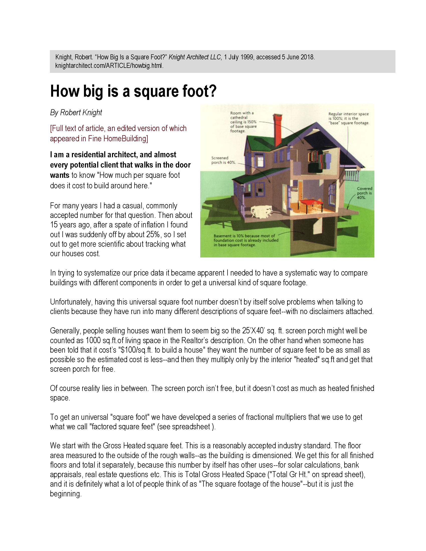 How big is a square foot