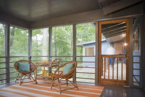 Sycamore House screened porch