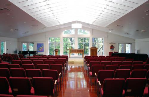 Church of Reconciliation interior