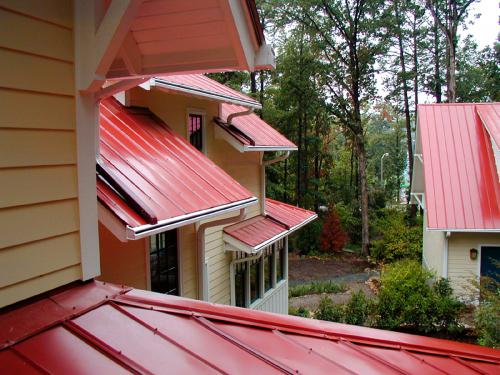 Holmgren Sidell House roofing