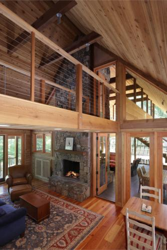 Haw River Retreat interior