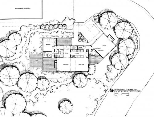 French Rowe site plan