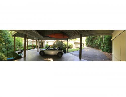 The Gallery House car port
