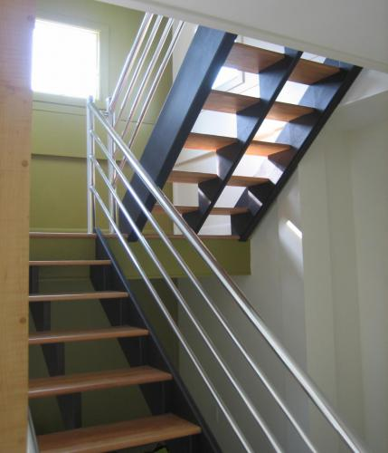 Cuthrell/Lamb Residence stairs