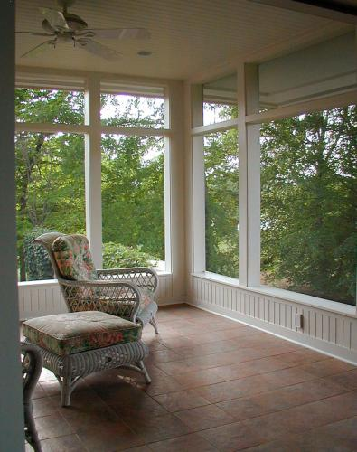 Hillsborough Residence porch