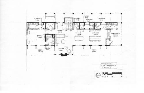 Lake Gaston Retreat floor plan