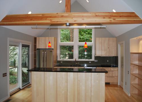 Thrall Residence kitchen